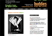 Buddies in Bad Times Theatre - website by Avocado Communications 2010