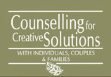 Counselling for Creative Solutions - Toronto therapy and Counselling - Click to visit website