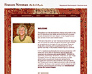 Dr. Frances Newman, Toronto Therapist