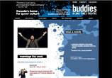 Buddies in Bad Times Theatre - website by Avocado Communications 2007